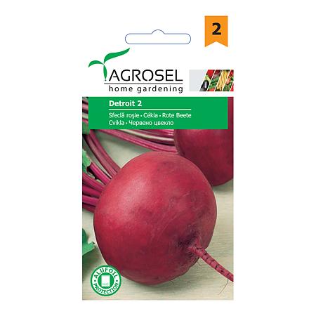 Seminte de sfecla rosie, Agrosel Detroit 2