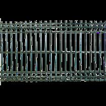 Panou gard plastifiat bordurat zincat verde, 4.2 x 730 x 2000 mm
