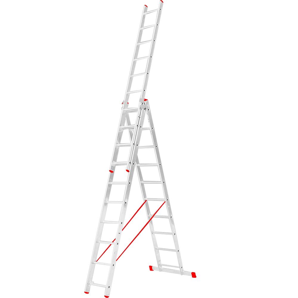 Scara aluminiu, 3 x 10 trepte imagine 2021 mathaus