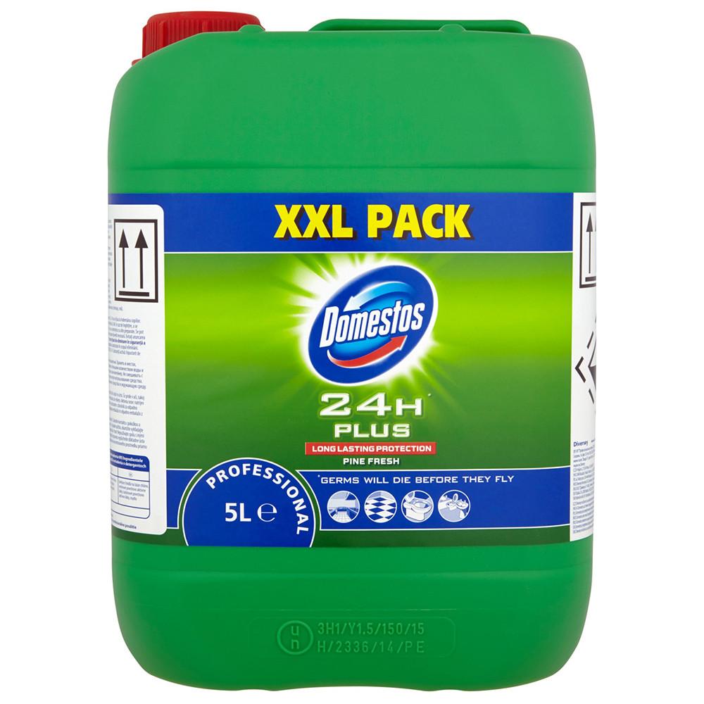 Detergent dezinfectant Domestos Professional Pine Fresh, XXL Pack, 5l imagine MatHaus.ro