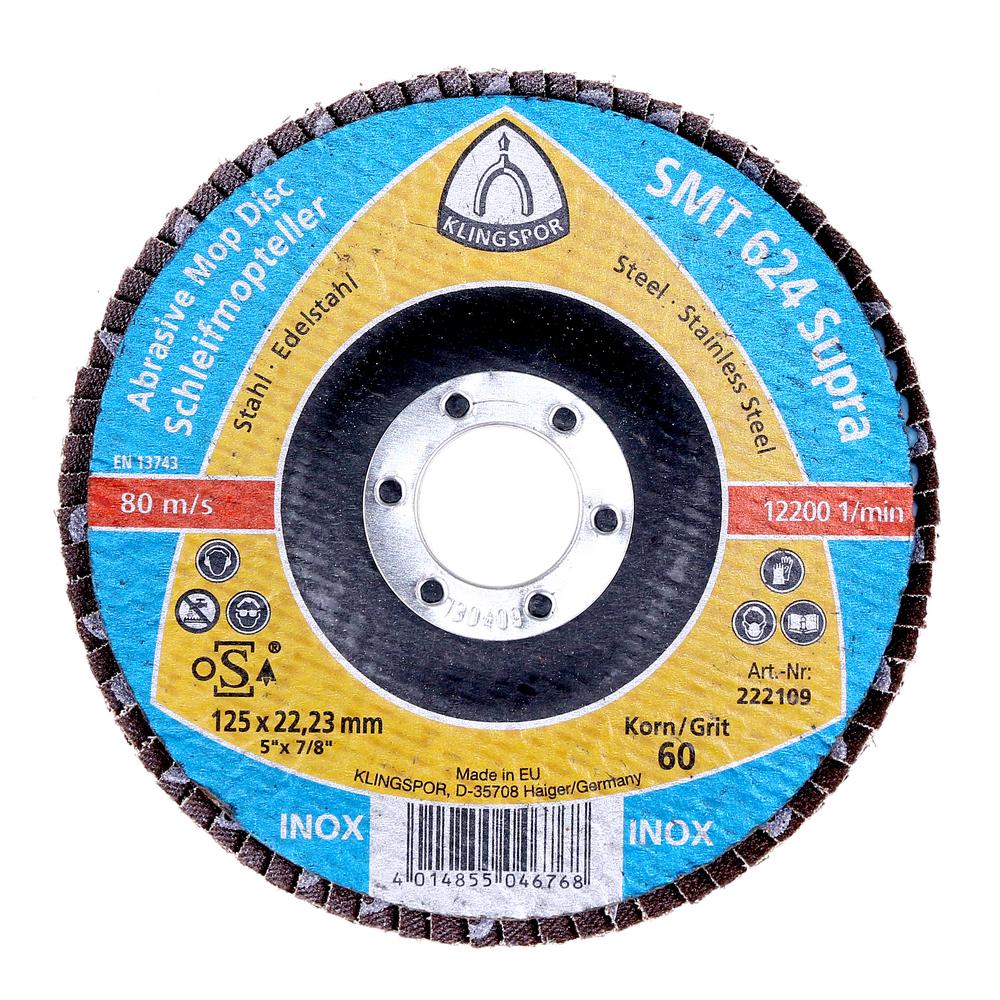 Disc Lamelar Frontal Klingspor 222109 125 X 22,23 mm mathaus 2021