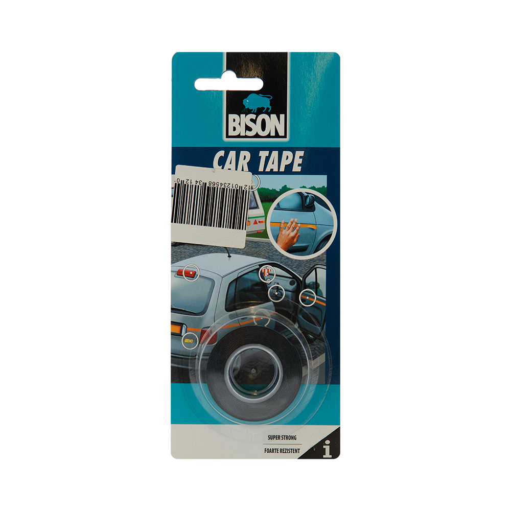 Bison Banda Car Tape 1,5 m x 19 mm