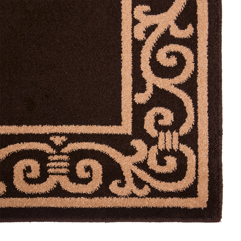 Covor dreptunghiular Fresco 5025-413 ciocolatiu 60 x 100 cm