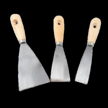 Set 3 spacluri din inox, Top Tools, 30-80 mm