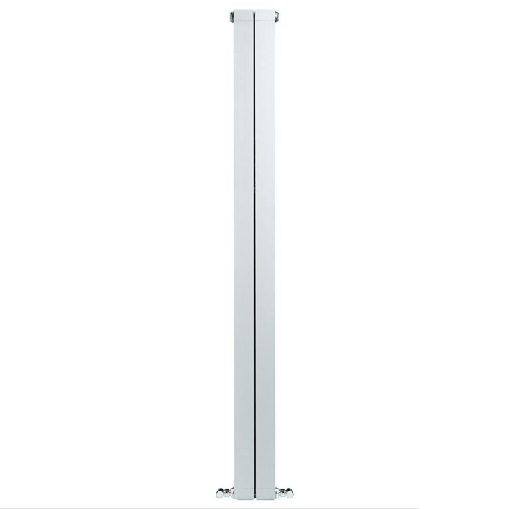 Calorifer aluminiu Faral Condor 1200, 80 x 1200 mm, 2 elementi, 400 W, alb mathaus 2021