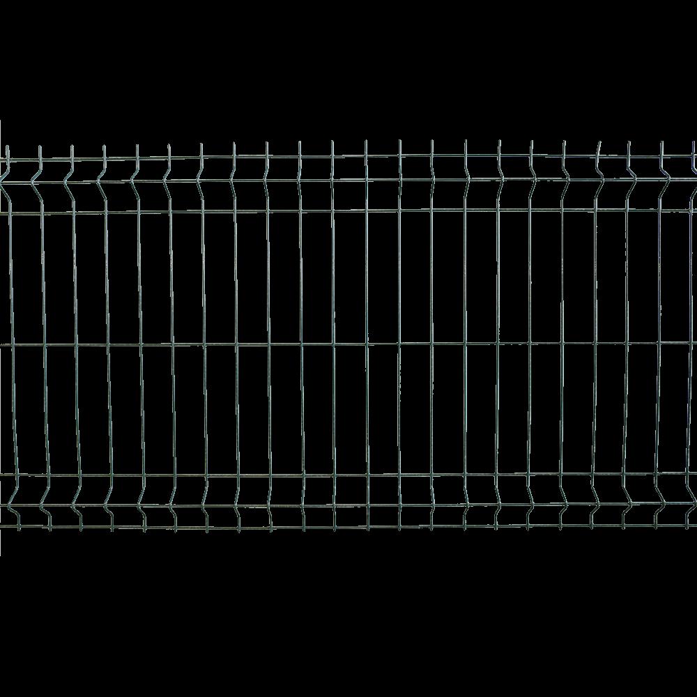 Panou gard plastifiat bordurat zincat verde, 4,2 x 730 x 2000 mm imagine MatHaus.ro