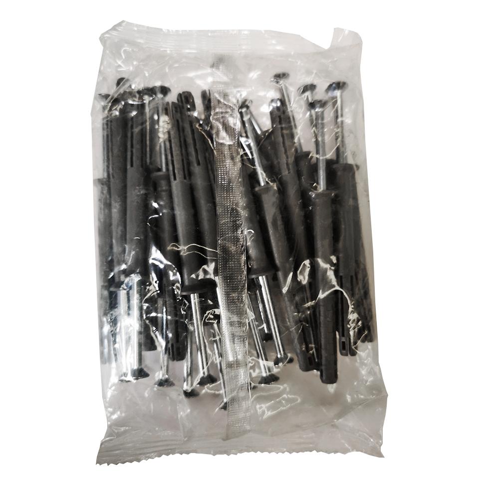 Diblu cui metalic, polipropilena, 10 x 80 mm, 25 BUC