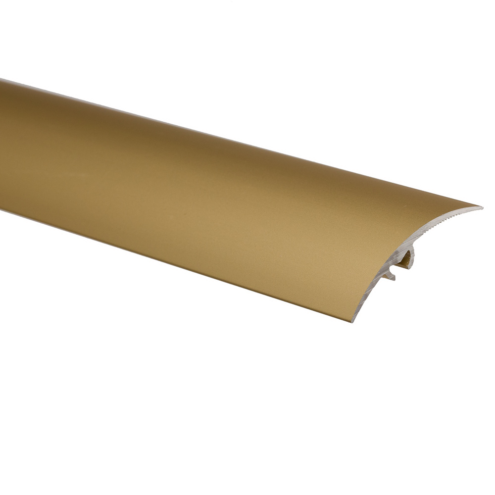 Profil de trecere cu surub mascat, cu diferenta de nivel S65, Effector, aur, 2,7 m imagine 2021 mathaus