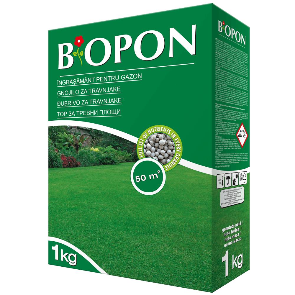 Ingrasamant pentru gazon Biopon, raport NPK, 1 kg