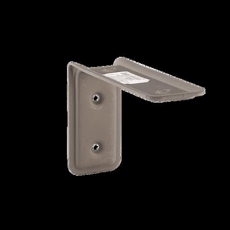 Consola 3F, otel, gri mat, 115 x 80 x 40 mm
