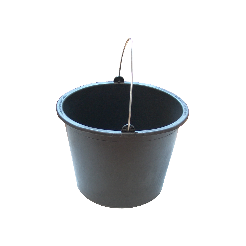 Galeata pentru mortar Jopa, negru, 20L