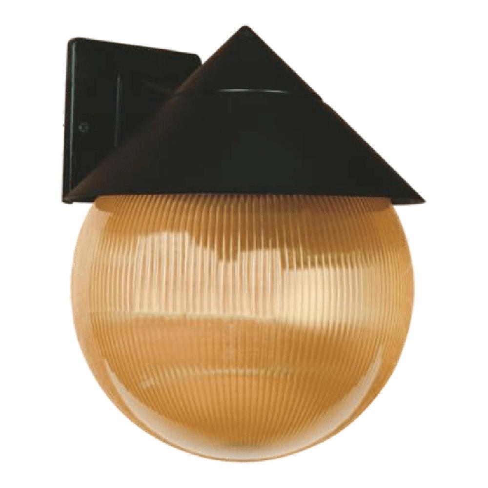 Aplica de exterior Glomus 3, LY - 2077, 1 X E27, 60W, IP 44, fumuriu imagine MatHaus