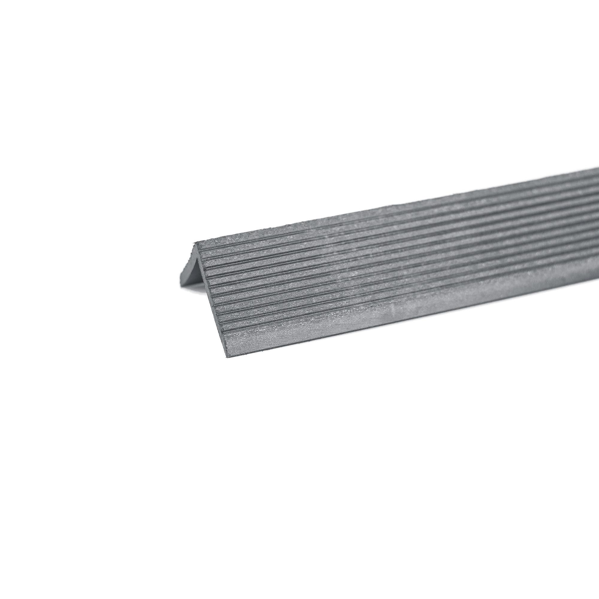 Profil colt WPC Bencomp, gri, 50 x 50 x 2000 mm imagine MatHaus