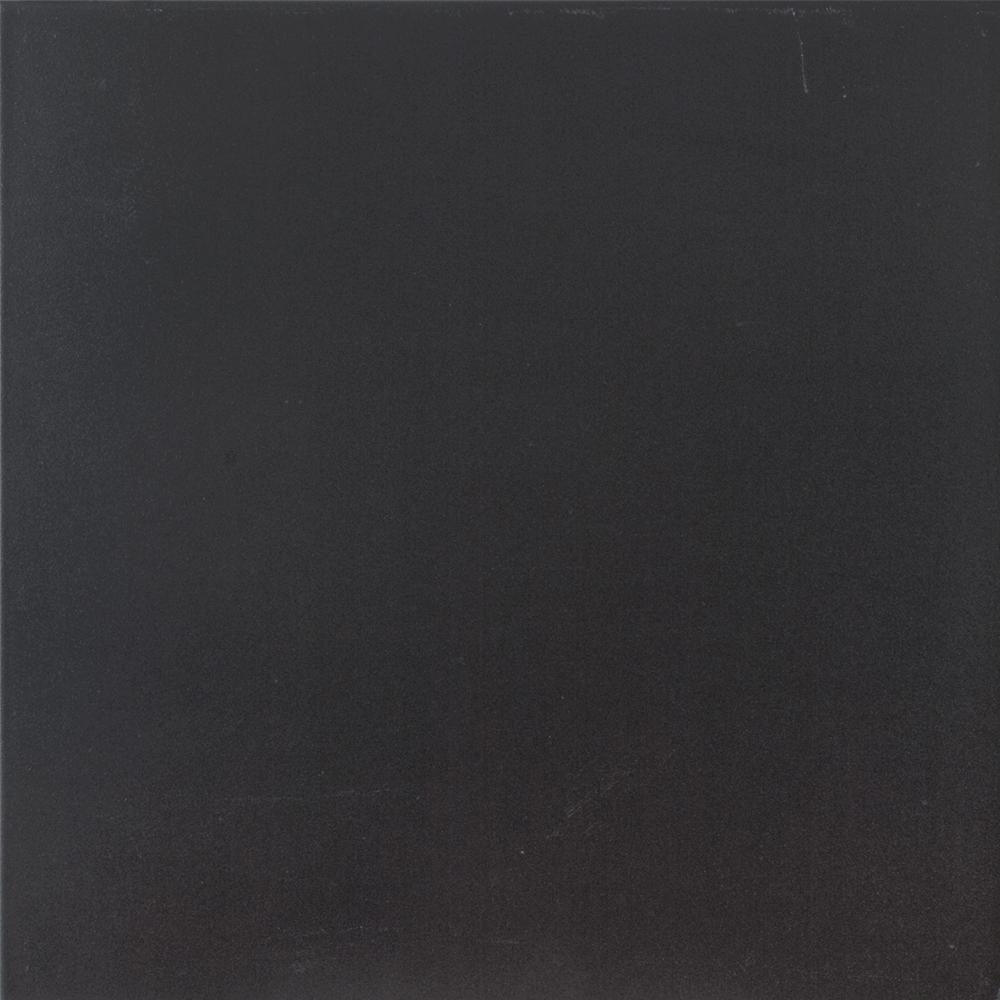 Gresie portelanata black - negru Umbria Kai Ceramics, interior, finisaj mat, patrata, grosime 7 mm, 33,3 x 33,3 cm mathaus 2021