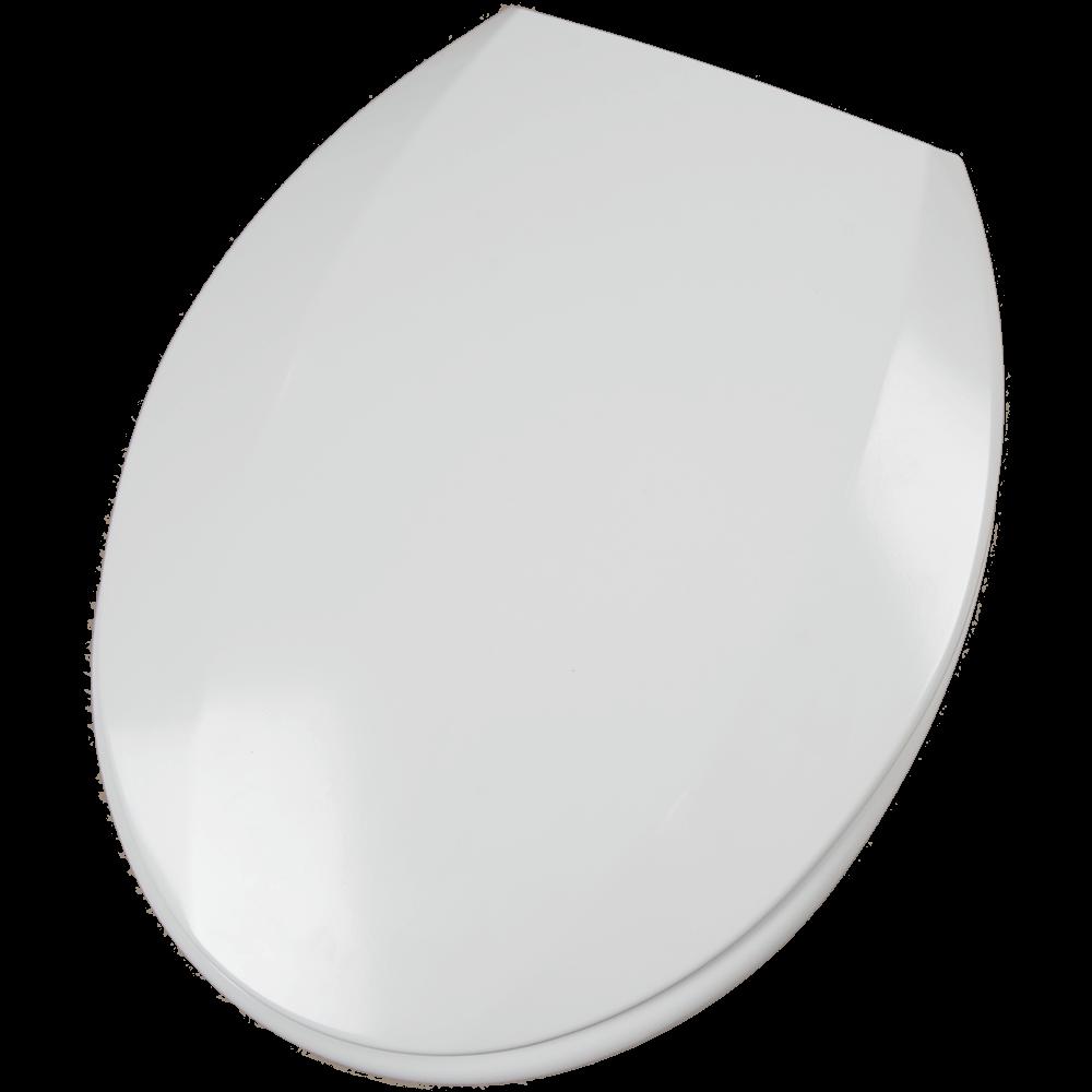 Capac WC universal, duroplast, alb, 45 x 37,5 cm