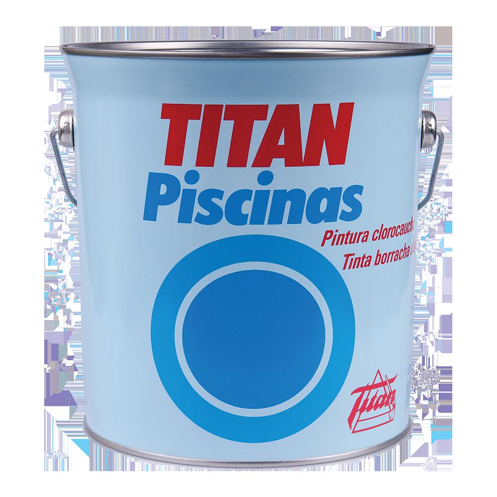 Vopsea piscina Titan Sirena Rubber Blue, 4 l imagine MatHaus