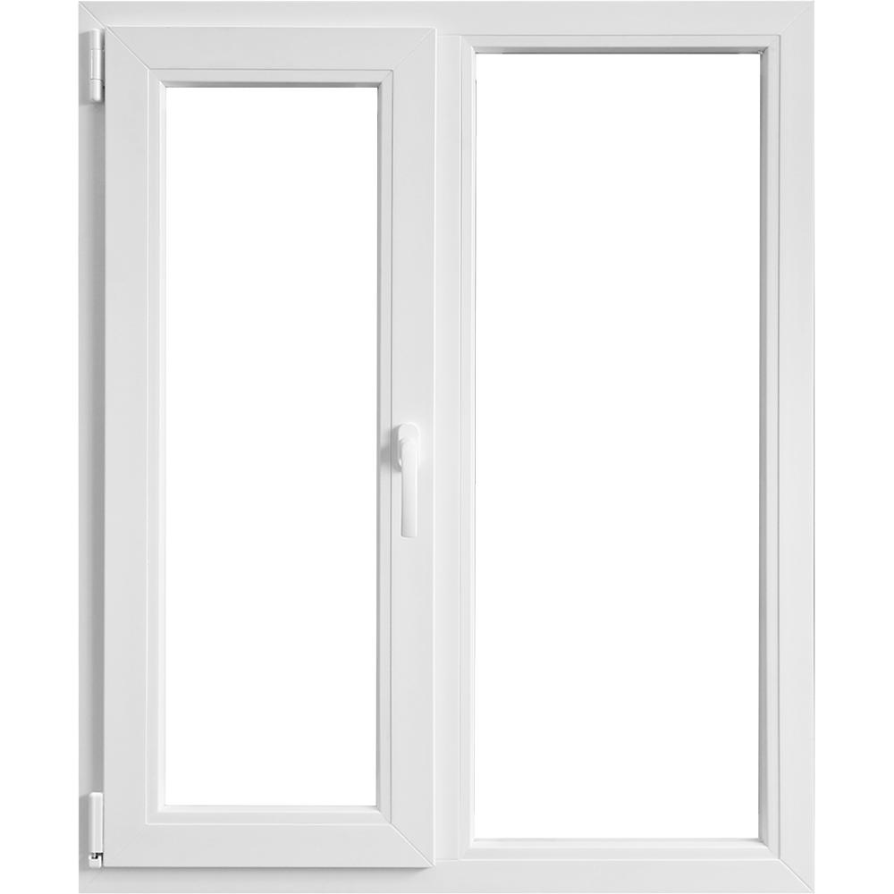 Fereastra PVC, 5 camere, alb, 116 x 116 cm imagine MatHaus.ro