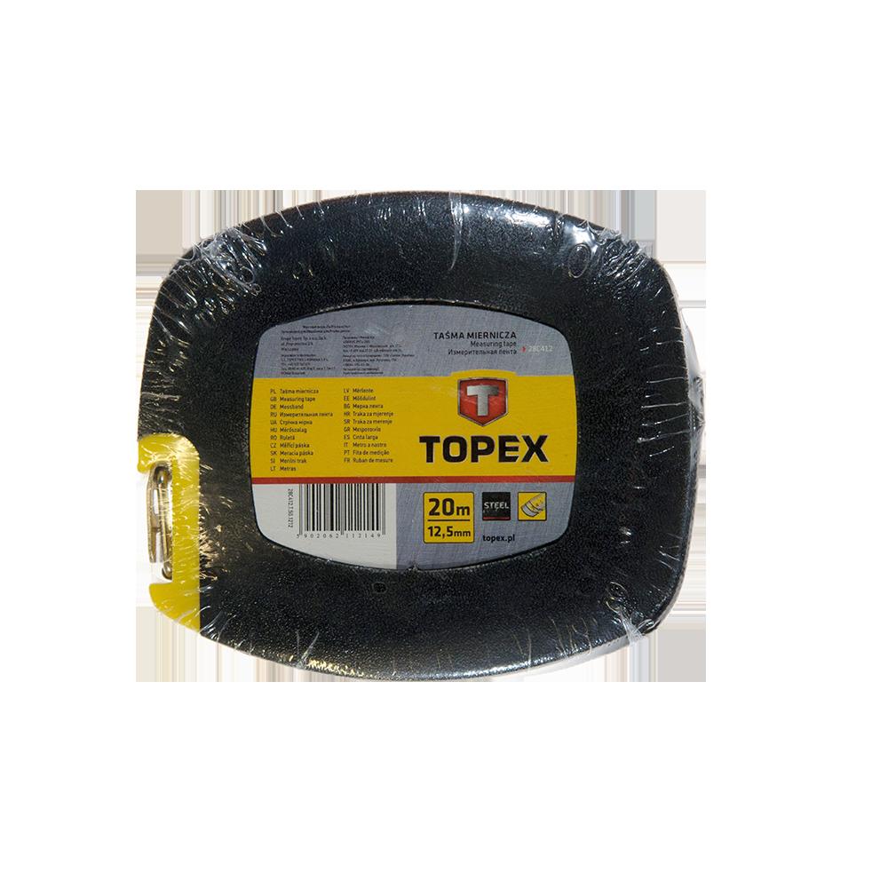 Ruleta banda menaj Topex, 20 m imagine 2021 mathaus
