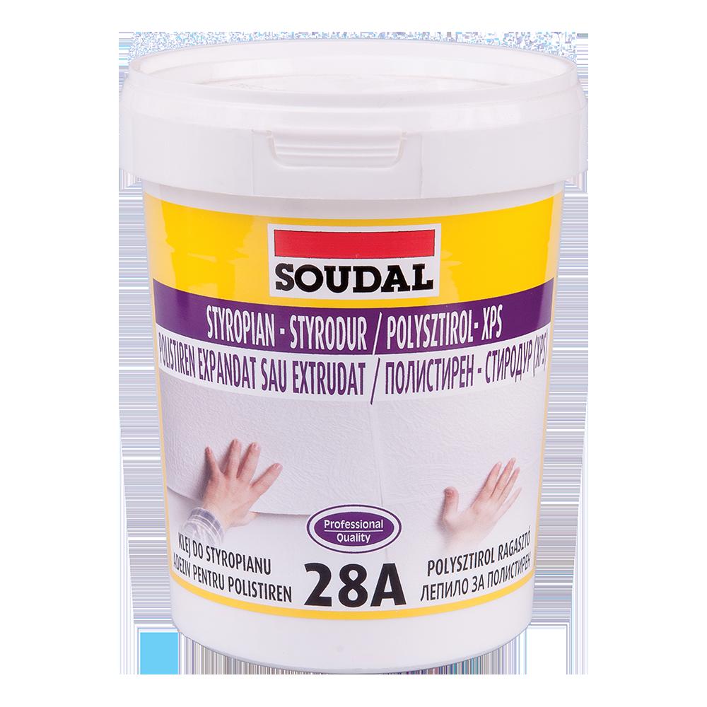 Adeziv pentru polistiren Soudal 28A 100024, 1 kg