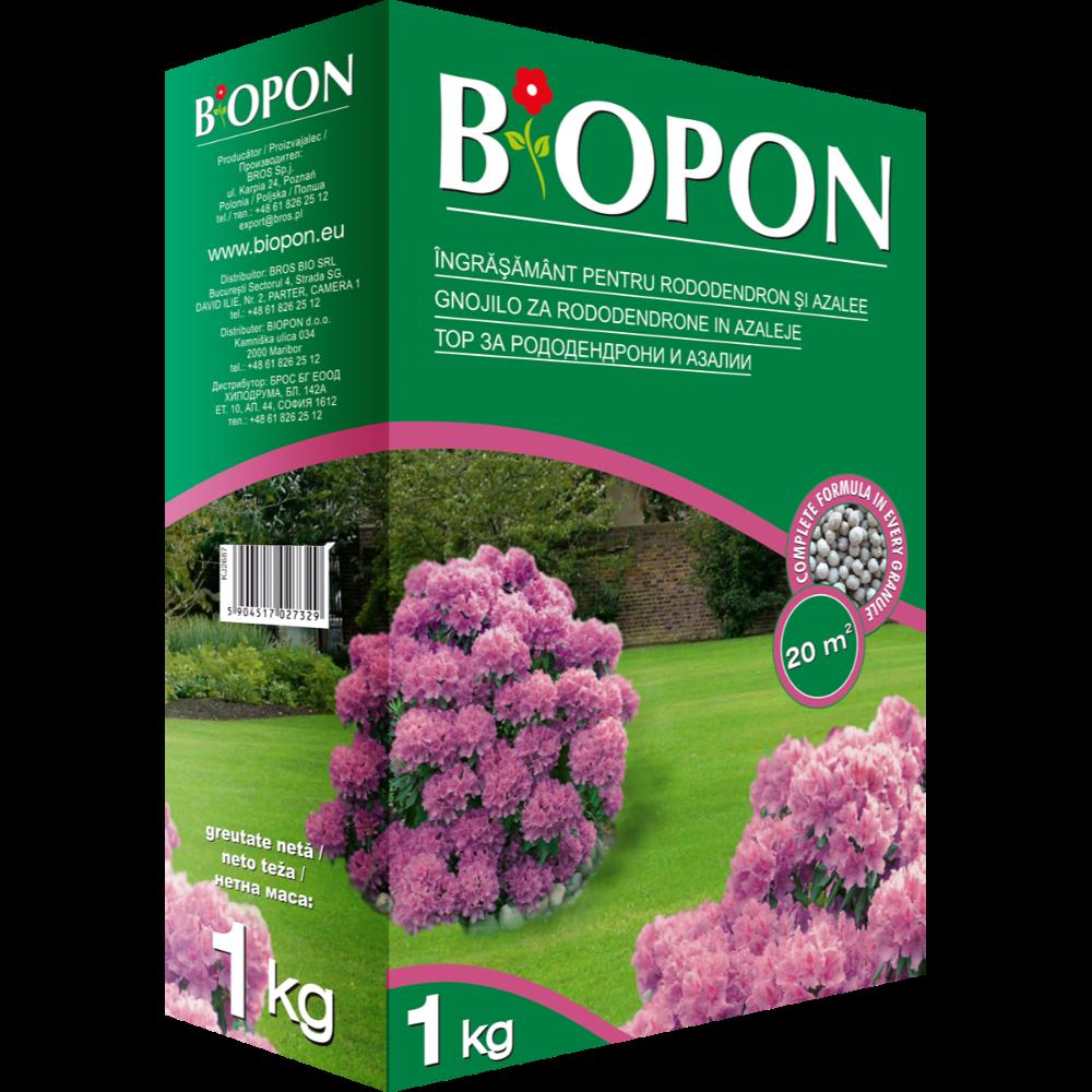 Ingrasamant pentru rododendroni si azalee Biopon, 0,5 l