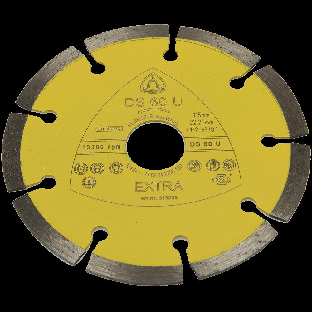 Disc diamantat beton Klingspor 115 X 22.3 mm