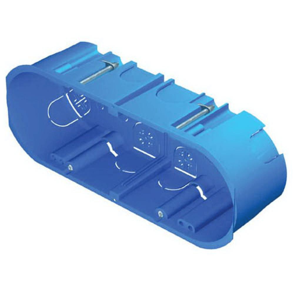 Doza rigips 7 module, 53000249 MS, pe tencuiala, albastra imagine MatHaus.ro