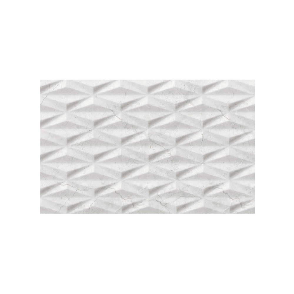 Faianta Cesarom Baccarin, gri, aspect geometric, lucioasa, 25.2 x 40.2 cm