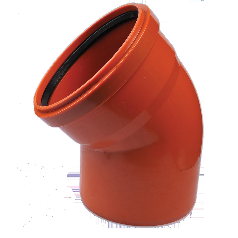 Cot PVC pentru canalizare exterioara Valplast, 160 mm, 45 grade mathaus 2021