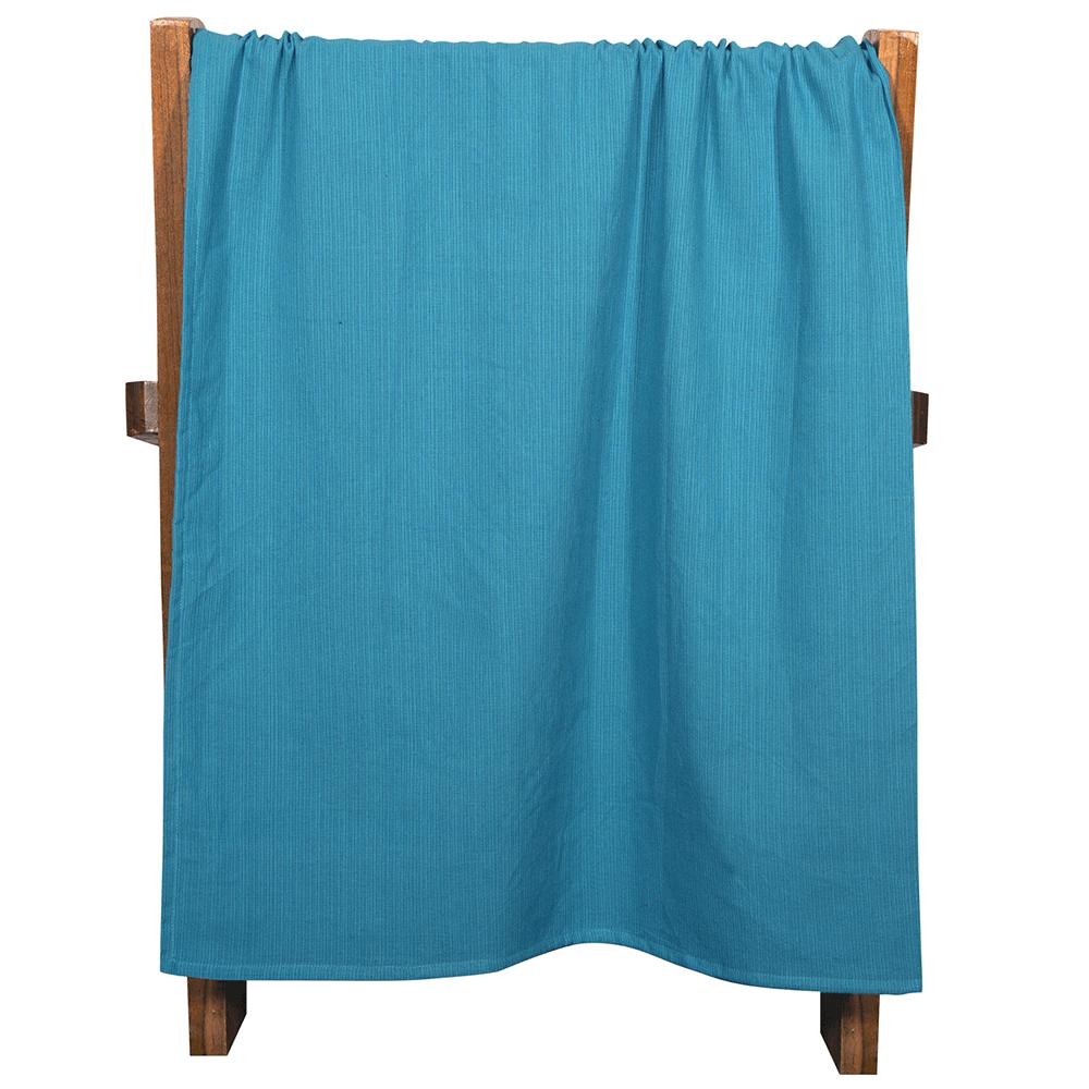 Pled Passion Capri, bumbac 100%, albastru, 140 x 200 cm mathaus 2021