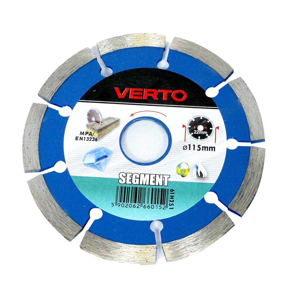 Disc Diamantat Segmentat Verto 61H2S1 115 mm