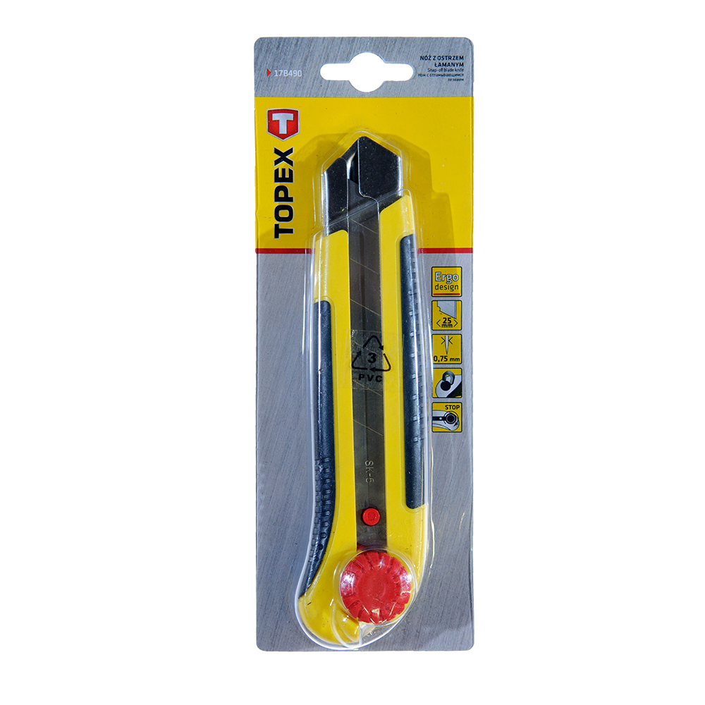Cutter Surub Fixare Topex 17B490 25 mm imagine MatHaus.ro
