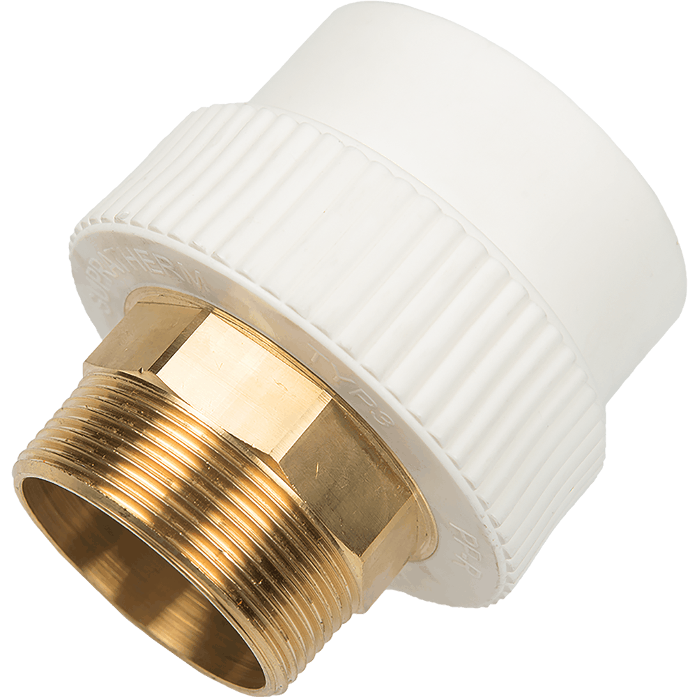 Mufa PP-R FE Supratherm, 63 mm x 2 inch imagine 2021 mathaus