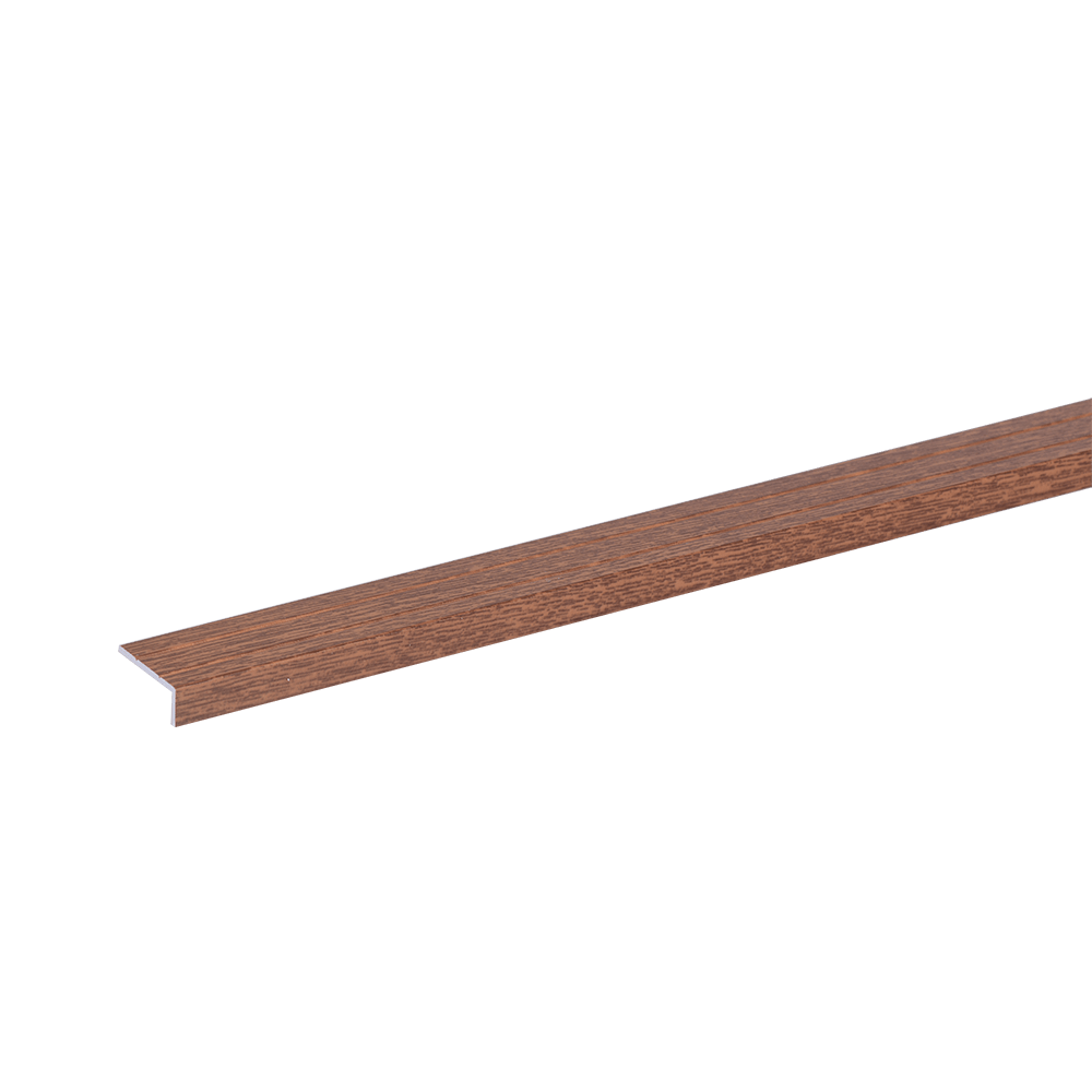 Profil inchidere parchet Set Prod S46 autocolant, aliaj de aluminiu 6063, maro, 1 m imagine 2021 mathaus
