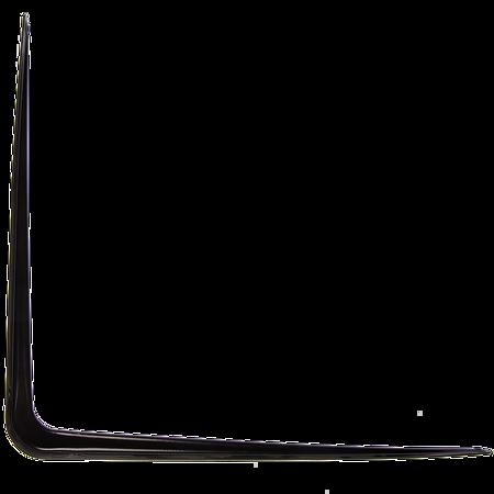 Consola din tabla, neagra, 300 x 350 x 48 mm