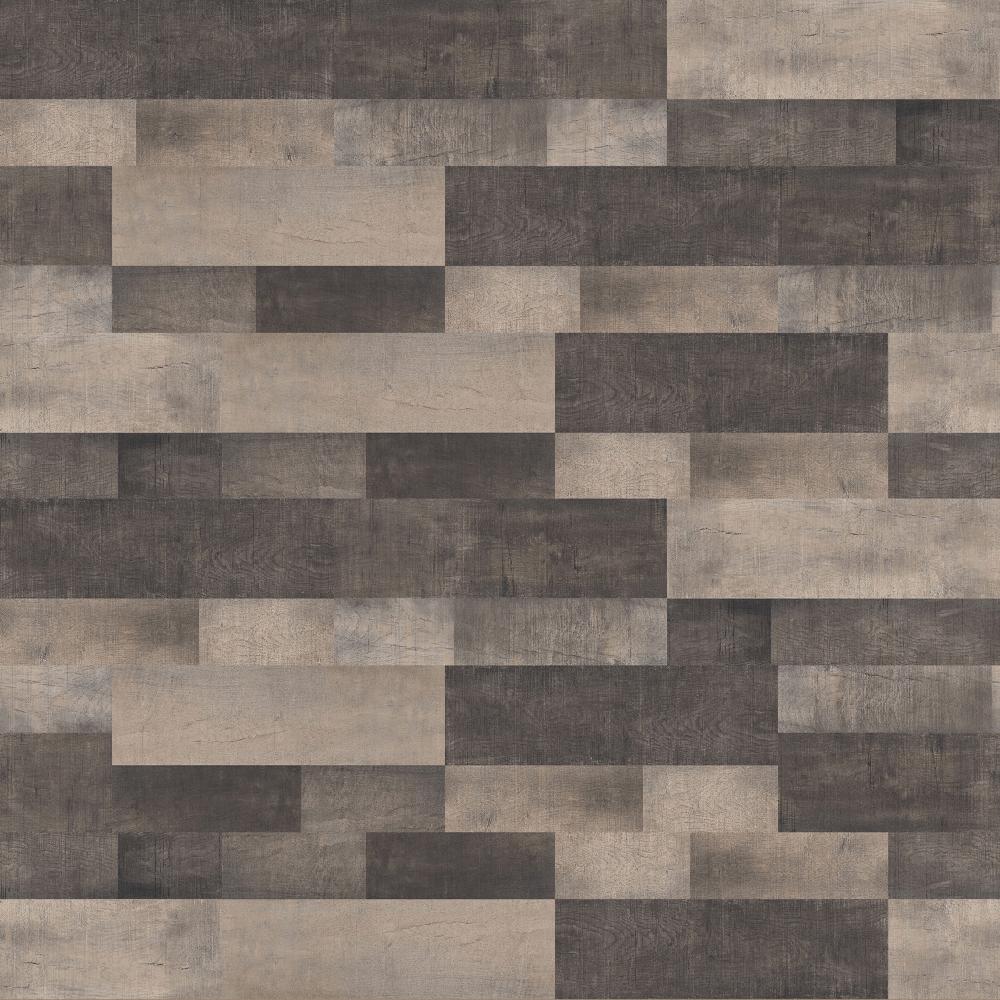Parchet laminat 8 mm, mosaic nuante maro, Varioclic Wood&Stone VW-37A Inka, clasa de trafic intens AC5, 1203,5x191,7 mm imagine MatHaus.ro