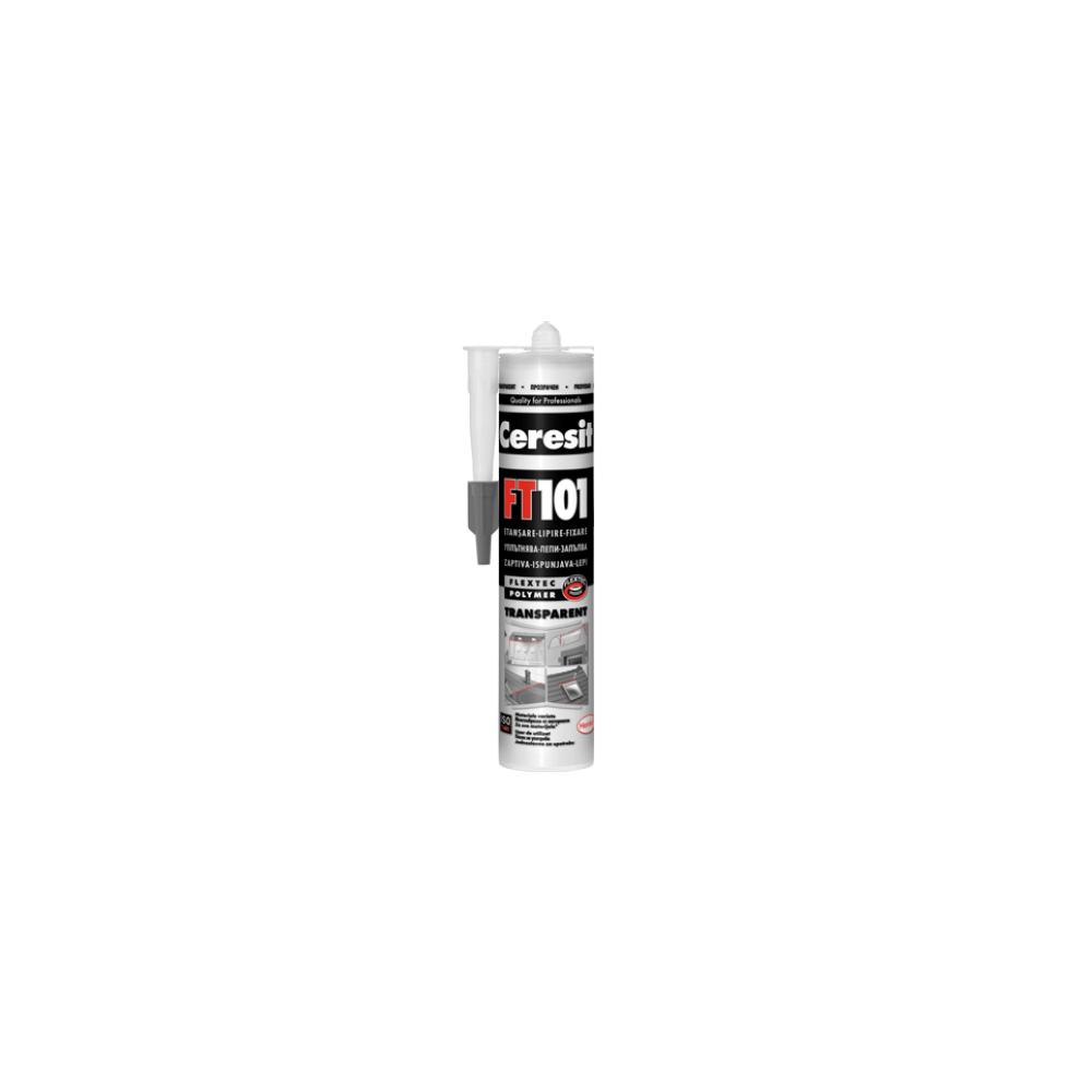 Etansant Ceresit FT 101, transparent, 280 ml imagine MatHaus.ro
