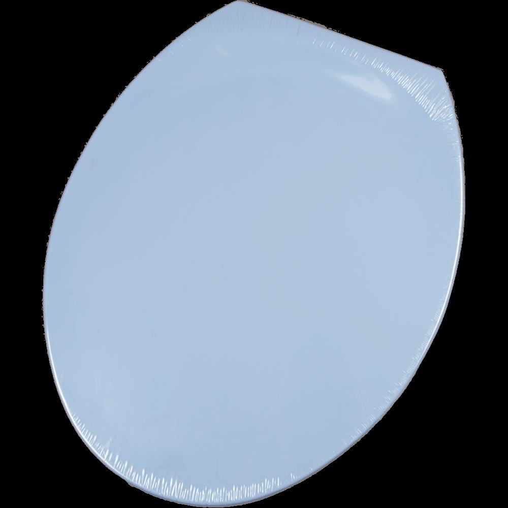 Capac WC Club 40, polipropilena, bleu, 46x22,5x37,5 cm