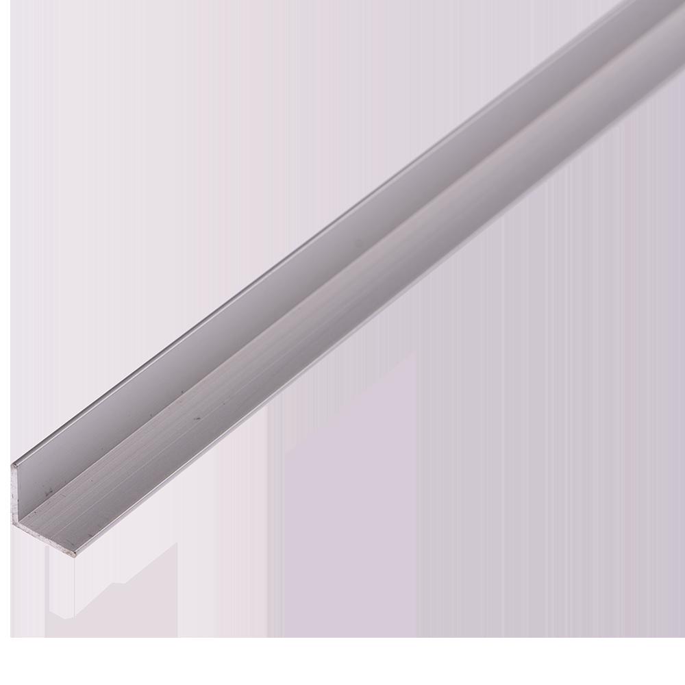 Cornier laturi egale, aluminiu, 10 x 10 x 1 mm, L 2 m imagine 2021 mathaus