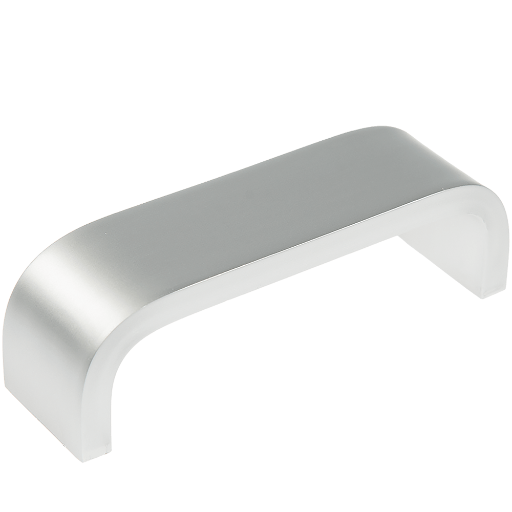 Maner FA23029/23666 128 mm, aluminiu mat