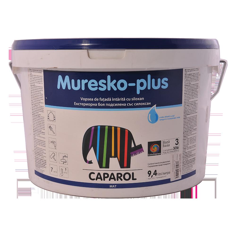 Vopsea lavabila Capamix Muresko pentru exterior, Baza3, 9,4 L