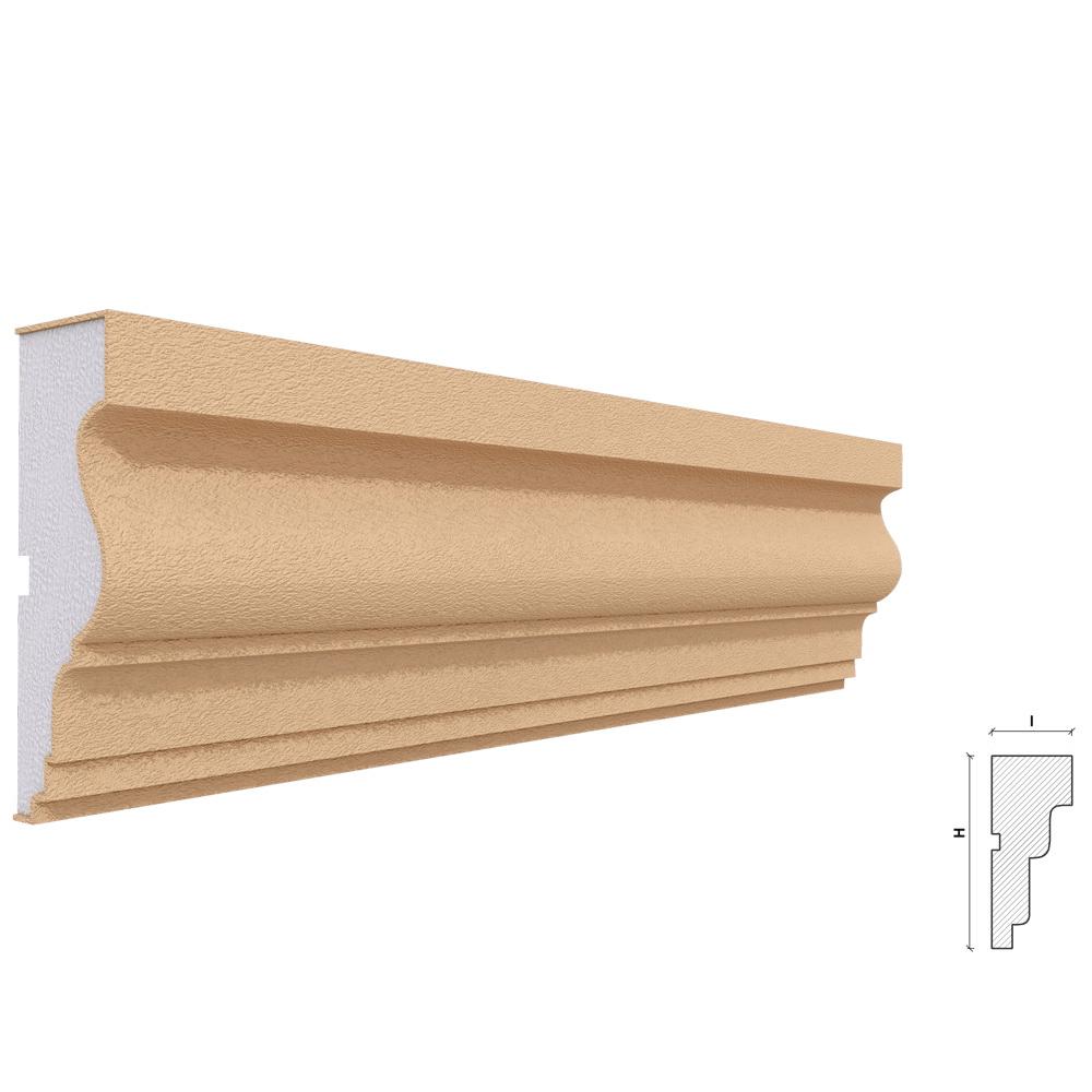 Ancadrament ferestre si usi Akfix FP116, polistiren EPS + rasina, 120 x 40 x 2000 mm mathaus 2021