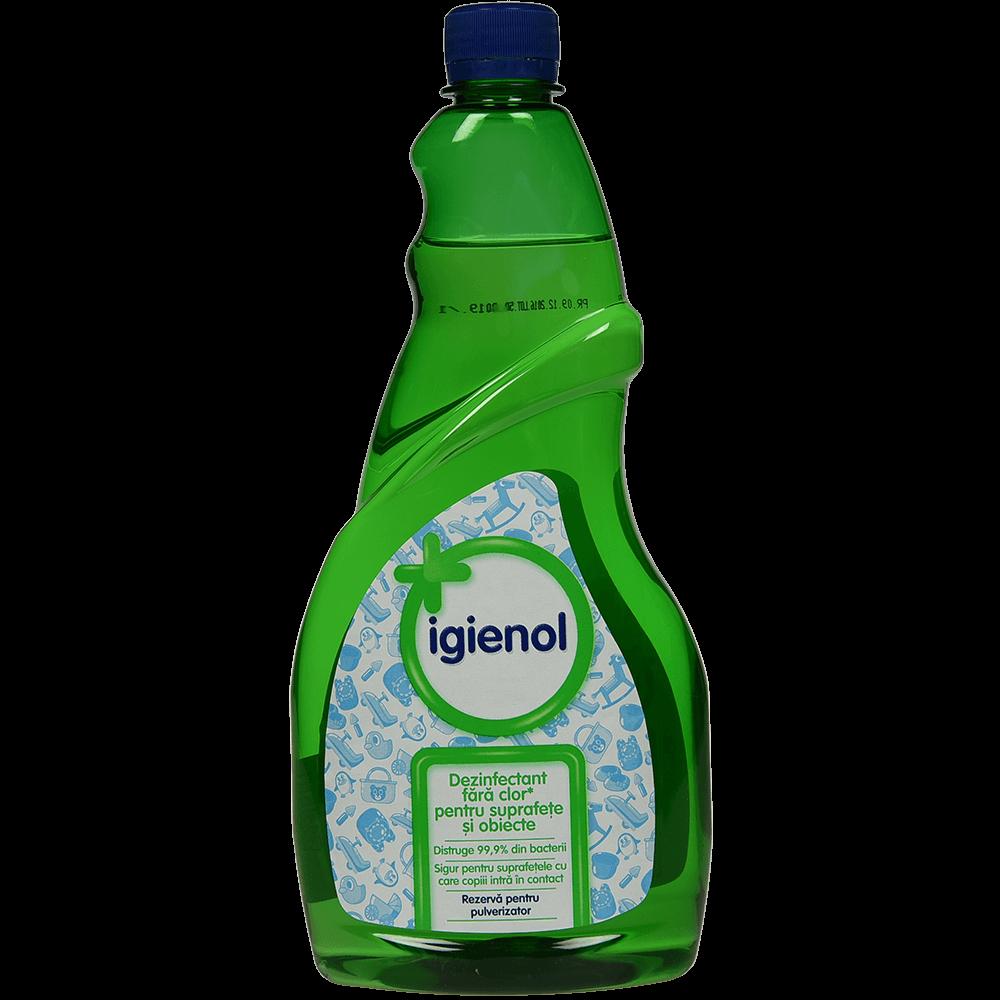 Rezerva dezinfectant universal Igienol, mar verde, 750 ml imagine MatHaus.ro