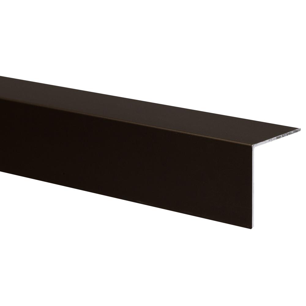 Profil colt L aluminiu pentru treapta Set Prod S25 bronz, 25 x 25 mm, 3 m imagine 2021 mathaus