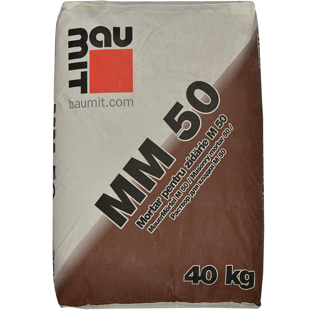 Mortar pentru zidarie Baumit M50, 40 kg