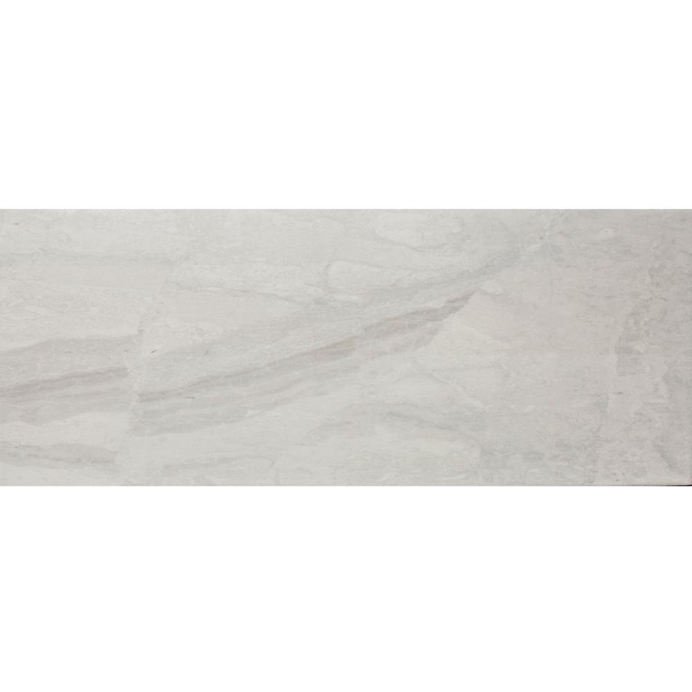 Faianta Style for ceramic Troia Light Grey 918 A, gri deschis, aspect de piatra, lucioasa, 21 x 52 cm imagine 2021 mathaus