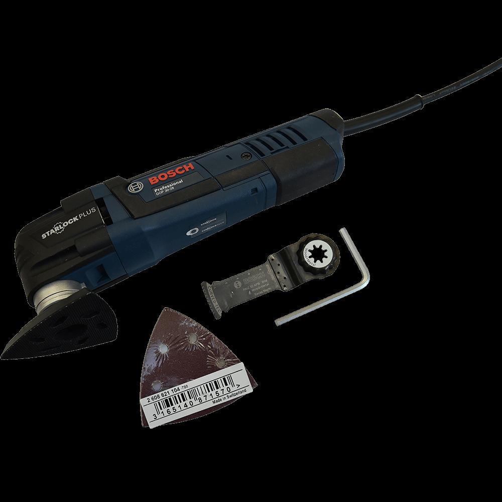 Multi-cutter Bosch GOP 30-28, 300W, 20000 rpm mathaus 2021