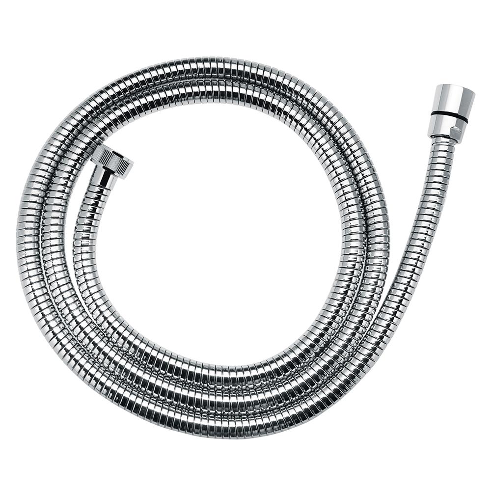 Furtun extensibil dus Ferro W05, metal, cromat, 150-200 cm
