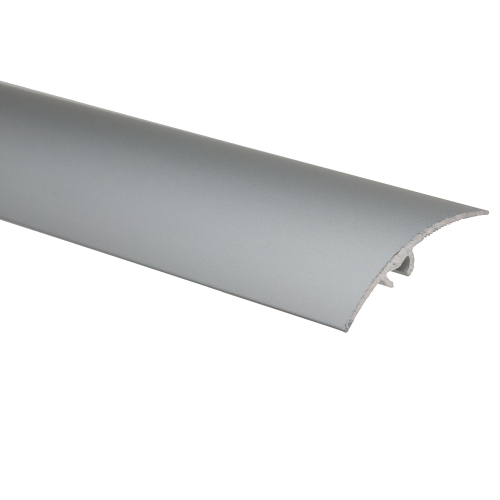 Profil de trecere cu surub mascat, cu diferenta de nivel S65, Effector, argint, 2,7 m imagine 2021 mathaus