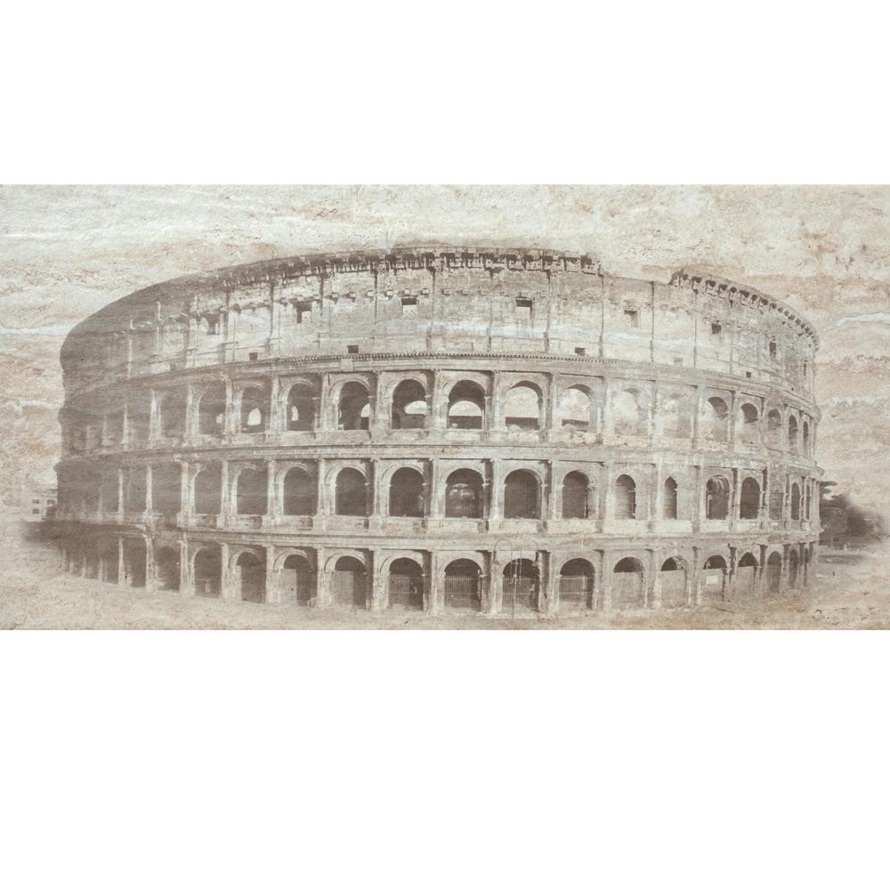 Faianta decor Keramo Rosso Agora Coliseum, finisaj estetic, bej si maro, model Coloseum, 30 x 60 cm
