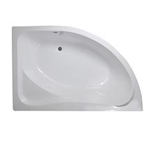 Cada de baie Regata Bella + suport si masca, acril, alb, dreapta, 150 x 100 x 40.5 cm